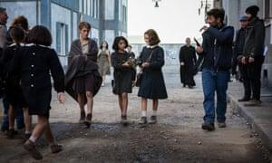 A scene from My Brilliant Friend, the successful HBO TV series adapated from Elena Ferrante's novel.