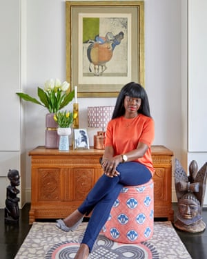Woman with a wish list: Eva Sonaike at home.