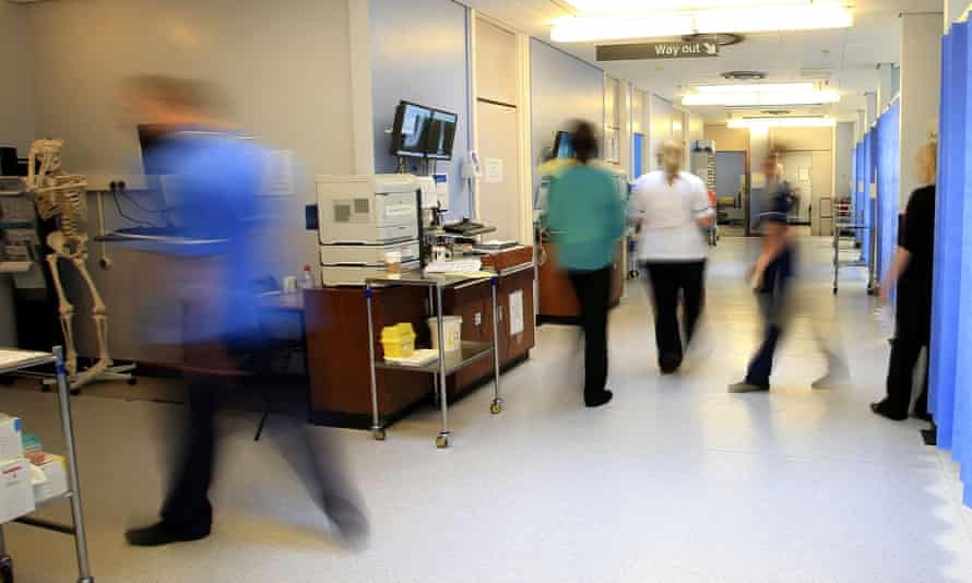 A hospital ward. The King's Fund warns that already unprecedented deficits reported by trusts for the last financial year will be much worse in future.