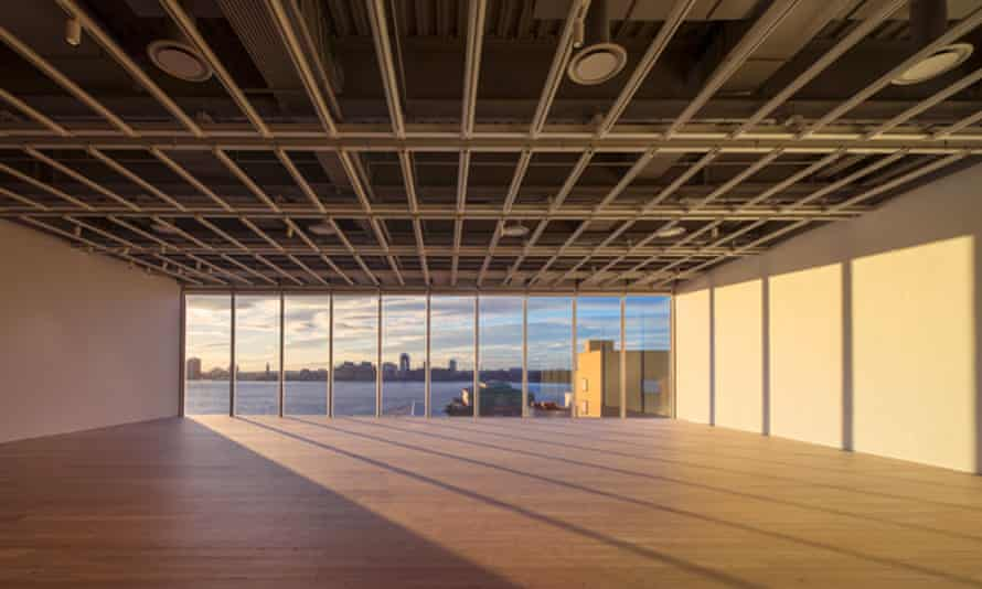 Andrea Fraser: filling the fifth floor of the Whitney with sound.