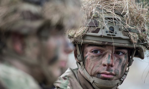 Inside the college that trains the UK's youngest soldiers