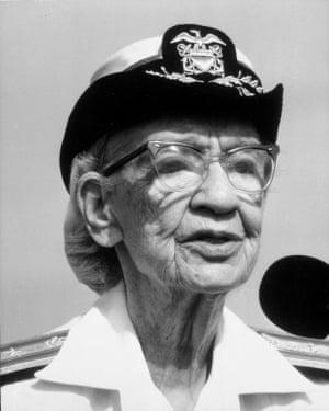 Rear Admiral Grace Hopper.