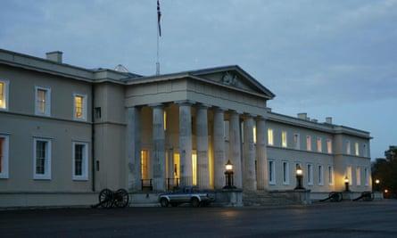 The Royal Military Academy at Sandhurst