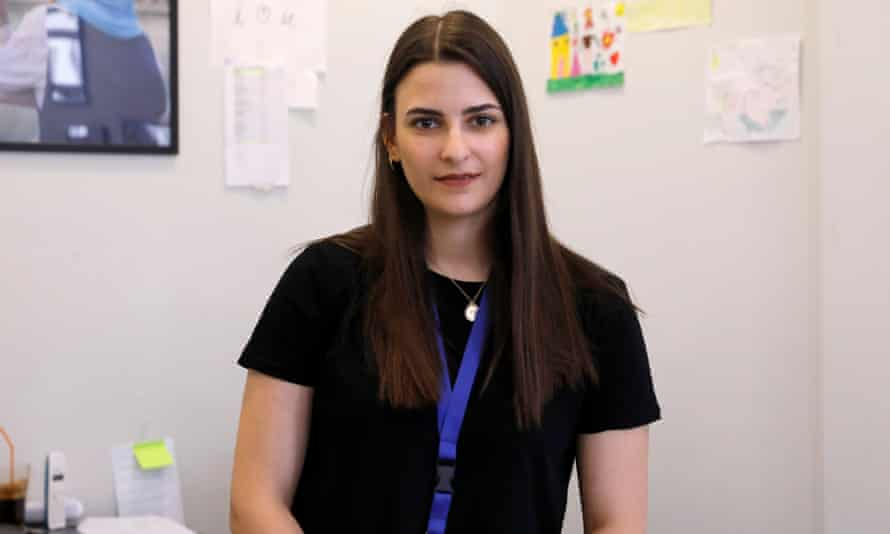 Efi Stathopoulou, the coordinator of Refugee Legal Support based at the Athens Solidarity Centre.