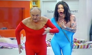 George Galloway and Pete Burns dance in Celebrity Big Brother in 2006.