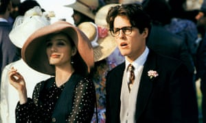 Hugh Grant with Kristin Scott Thomas in Four Weddings and a Funeral (1994)
