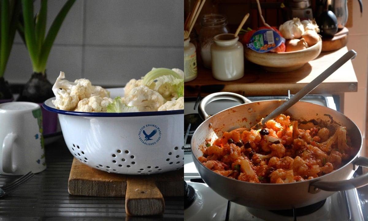 Rachel Roddy's cauliflower in puttanesca sauce recipe | A Kitchen in ...