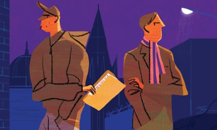 Illustration by Richard Allen for essay mills article