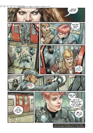 """Madi, the new comic book by Duncan Jones and Alex de Campi, in the """"Mooniverse trilogy"""" made up of Jones's 2009 film Moon and his 2018 Netflix show Mute"""