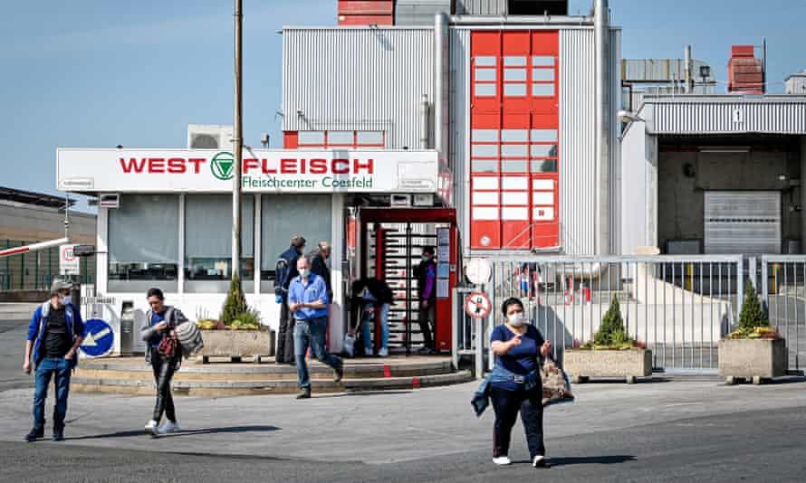 Westfleisch workers