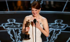 Julianne Moore accepts the best actress