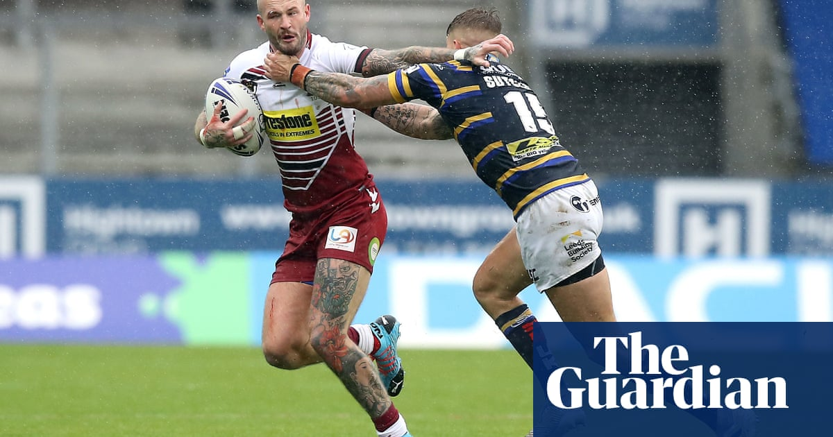 Zak Hardaker primed to repay Wigans faith with Grand Final redemption
