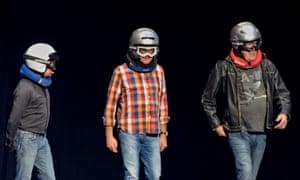 Richard Hammond, James May and Jeremy Clarkson