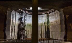 地下に作られた治水施設「G-Cans (首都圏外郭放水路)」。世界最大の地下洪水対策施設だ