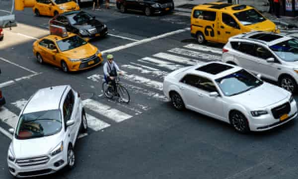 New York City to 'break car culture' and build more than 250 new bike lanes | New York | The Guardian