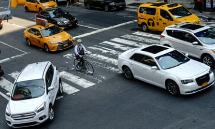 While cycling is on the rise in New York – the number who ride several times a month grew by 26% between 2012 and 2017, according to the city's most recent cycling trends report – more cyclists are dying.