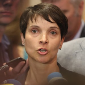 Frauke Petry, head of the rightwing populist AFD.