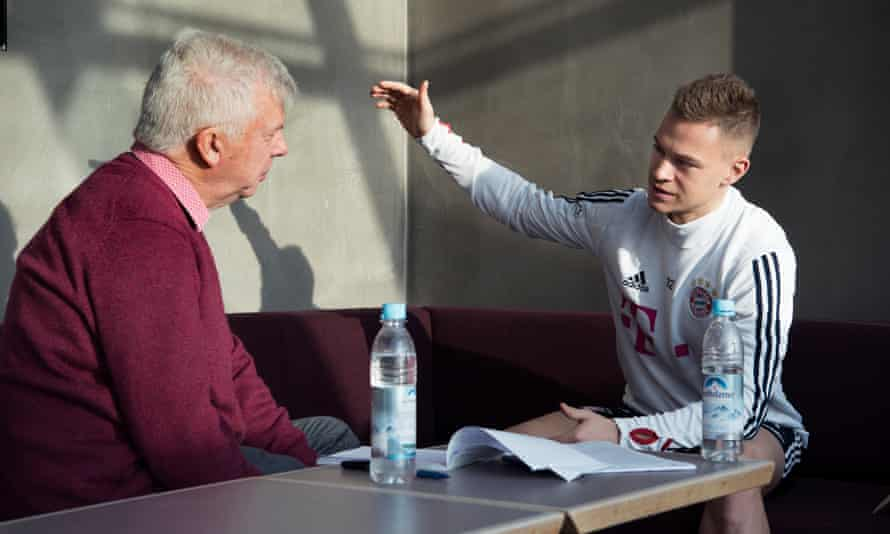 Kimmich talks to the Guardian's Donald McRae in Munich.