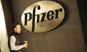 Pfizer's global headquarters in New York.