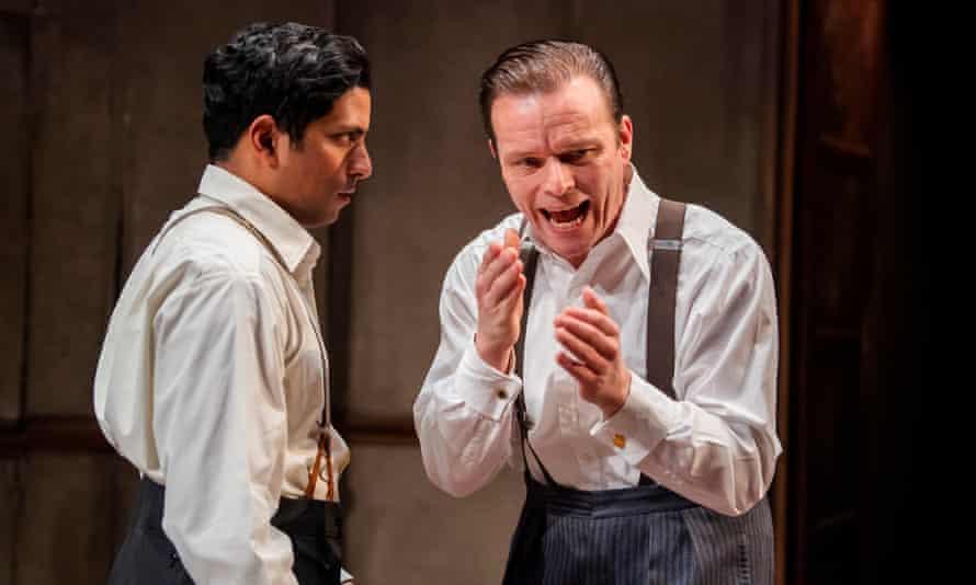 Shane Zaza and Alec Newman in The Dumb Waiter