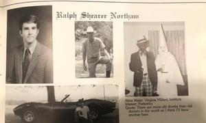 Ralph Northam's page in his 1984 Eastern Virginia Medical School yearbook
