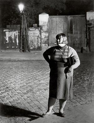Streetwalker near Place d Italie 1932 c Estate Brassai Succession Paris