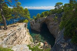Grotta delle Viole, Isola San Domino, Tremiti Islands, Apulia, Italy