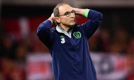 Martin O'Neill defends his record after Ireland fail to reach World Cup – video