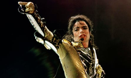 Michael Jackson in 1997