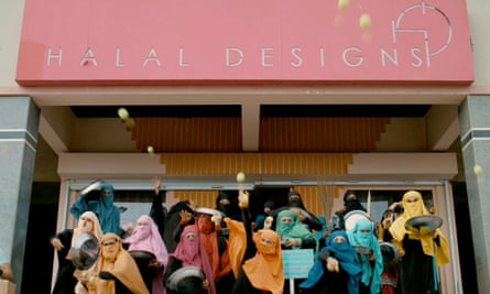 The women of Halal Designs - the boutique which functions as a front for the covert detective agency.