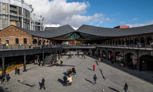The kissing roofs at Coal Drops Yard in King's Cross.
