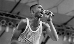 Infamous … Banton performing in 1993.