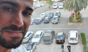 Moz, a Kurdish refugee, was transferred to Australia under the medevac legislation over 40 days ago and says he is being held in a Melbourne hotel