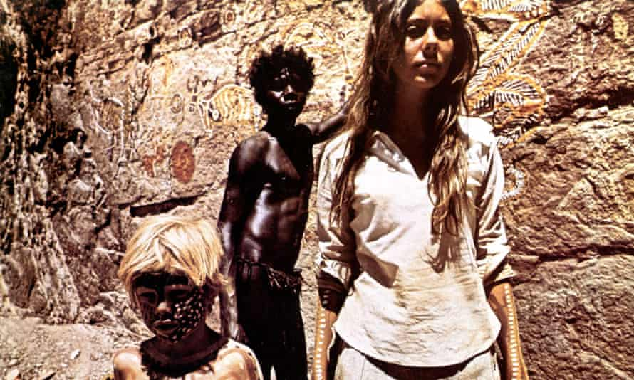 film still from Walkabout