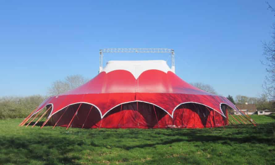 Interlude is staged in Lost in Translation's big top.