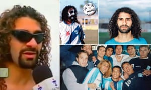 'You paint your face, you go to war and you kill your rivals', said Dario Dubois, a notorious figure in lower league Argentinian football in the 1990s.