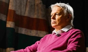 David Icke in a TV interview. Photograph: LondonLive