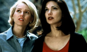Rocket-fuelled with vanity and cruelty … Naomi Watts and Laura Harring in Mulholland Drive.