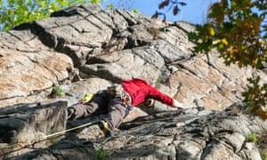Rock climbing is a major sport in the Czech Republic.
