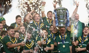 Australia beat New Zealand in the final when the Rugby League World Cup was last held in England in 2013.