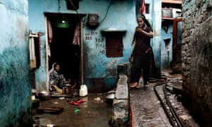 Indian houses often lack running water, electricity and sanitation, while open sewers are all too common.