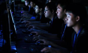 Gamers at a World Cyber Games championship in Singapore