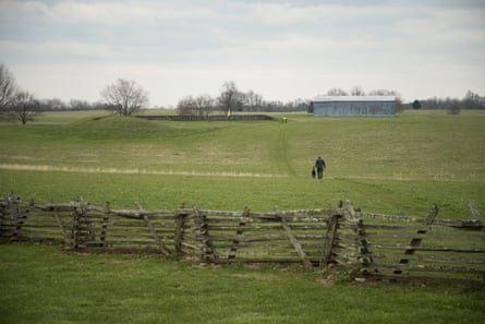 The grounds at Camp Nelson in Nicholasville, Kentucky.