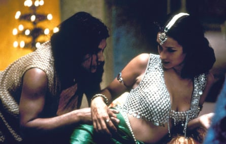 'Baptism of fire' … with Ramon Tikaram in Kama Sutra: A Tale of Love.