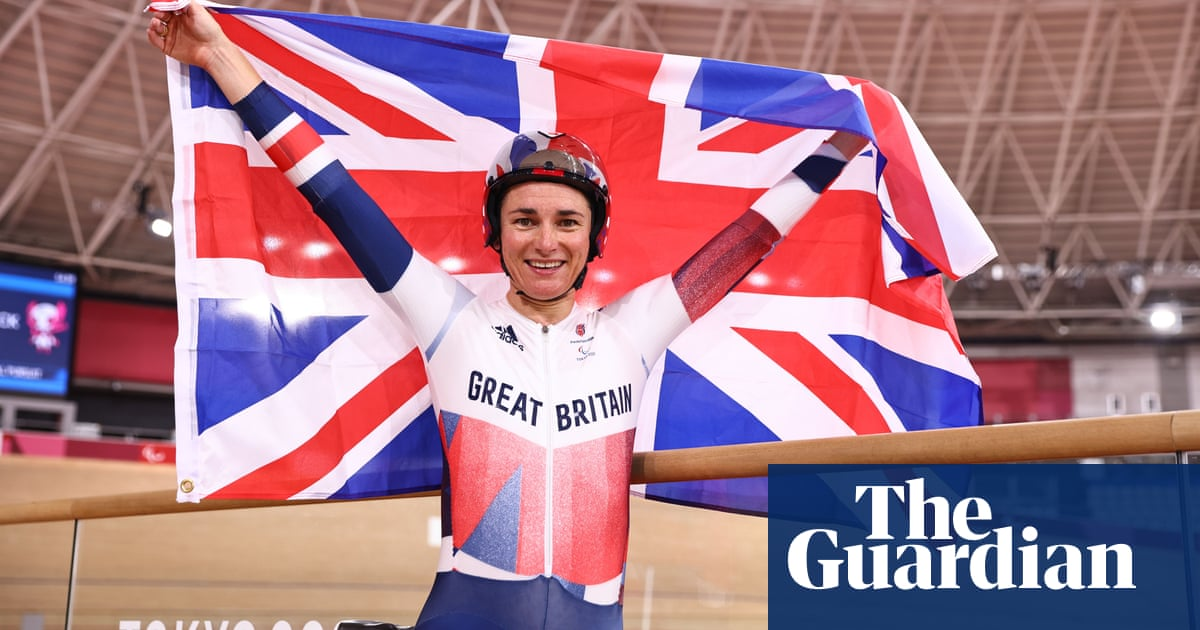 Sarah Storey storms to stunning 15th Paralympic gold in individual pursuit