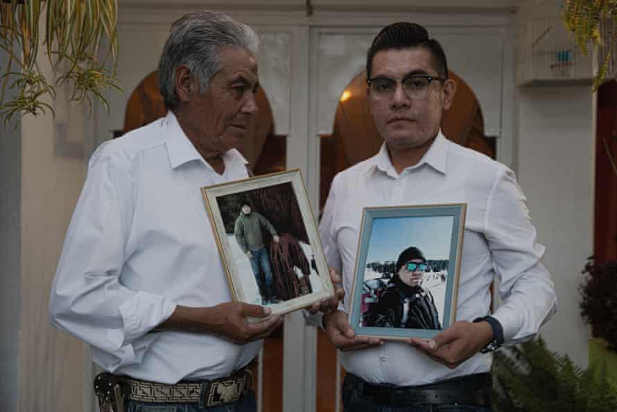 Pedro Martínez Hernandez and Javier Martínez Chichil