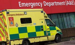 More than 75,000 patients have spent at least half an hour this winter with ambulance crews waiting for A&E treatment.