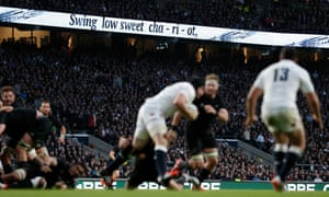 England fans are encouraged to sing Swing Low, Sweet Chariot at Twickenham.