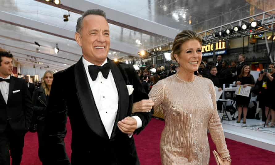 Wilson and Hanks at the Oscars in February.