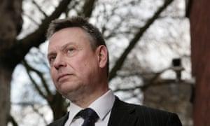 Tony Porter - the government's CCTV commissioner.